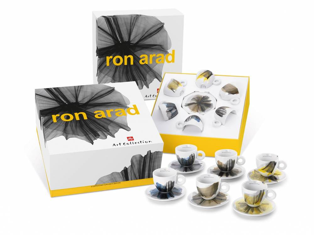 Ron Arad , illy Art Collection, pack 6 cappuccini
