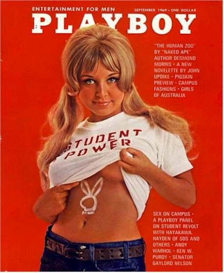 Playboy cover September 1969