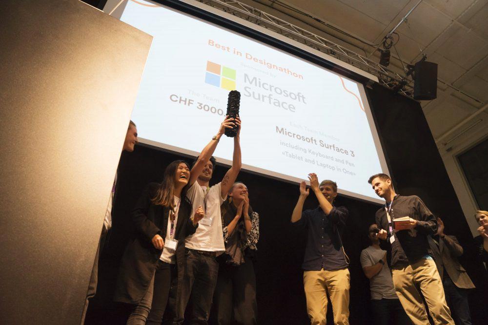 Winner of the Designathon15
