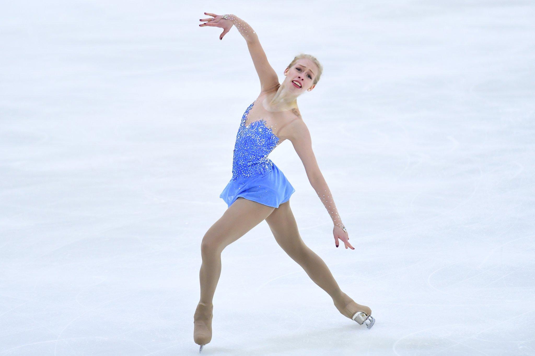 Olympic figure skating dresses