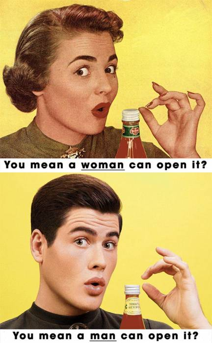 feminist-vintage-ads-woman-can-open-it
