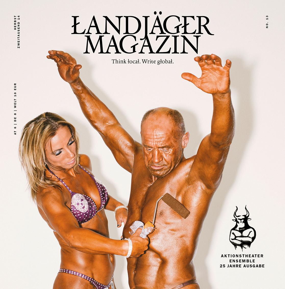Landjäger-Magazin-Titel
