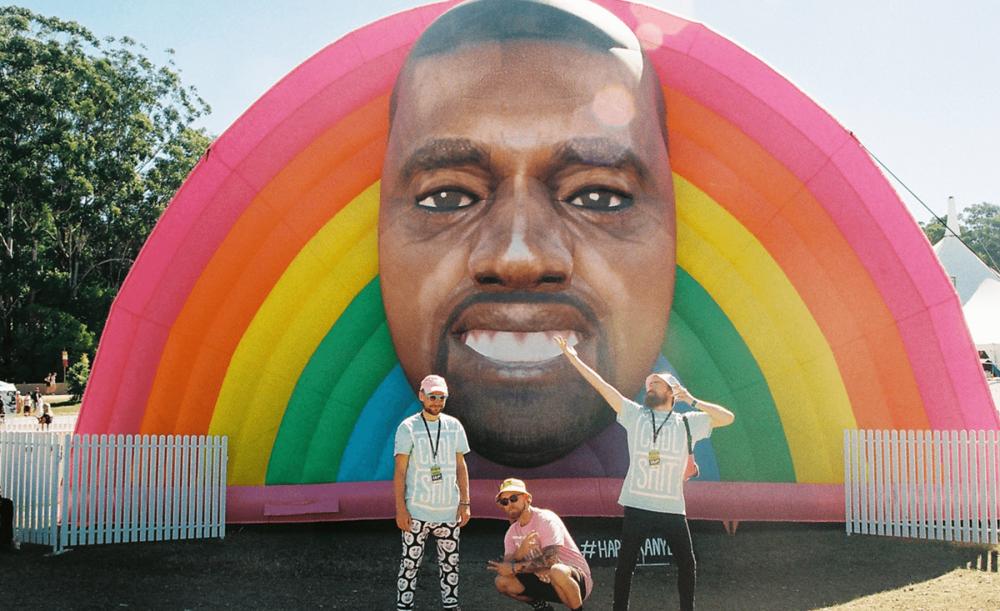 Cool-Shit-Happy-Kanye-Outside