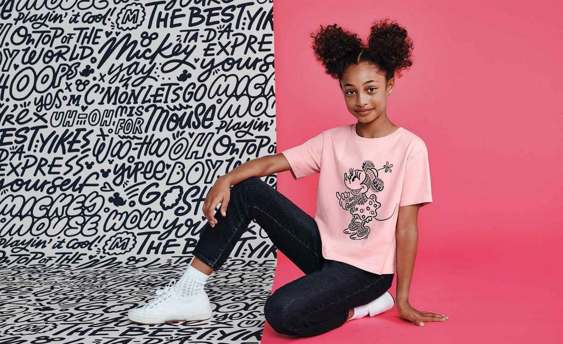 Designer-Kate-Moross-Mickey-Mouse-Collection-Campaign-Child