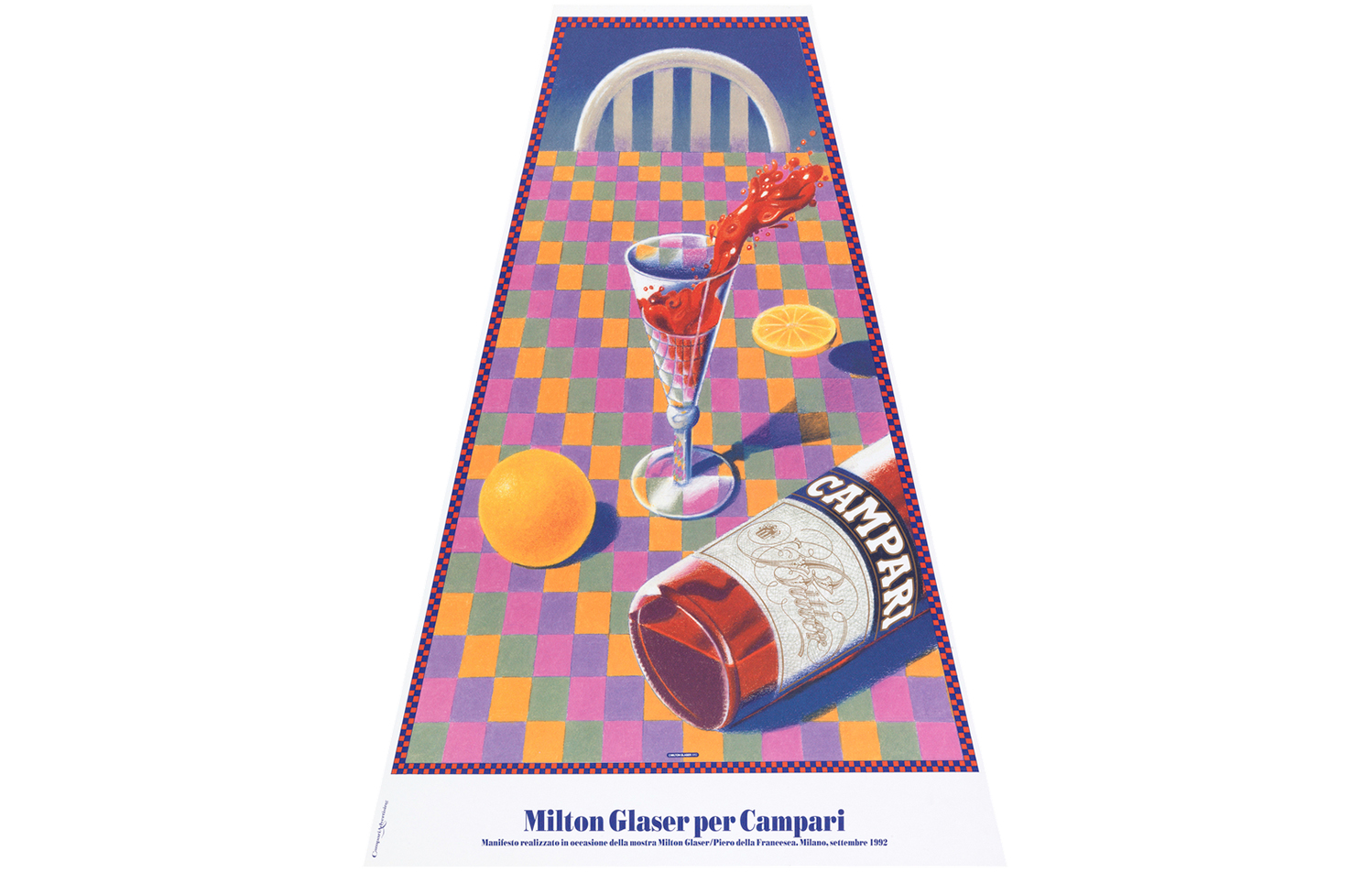 Campari Soda, Milton Glaser